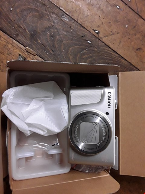 Lot 3009 CANON POWERSHOT SX730 HS 20.3MP CAMERA RRP £450.00