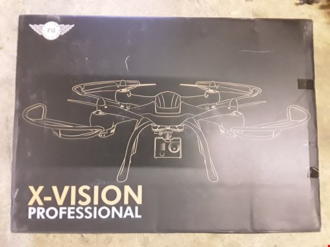 Lot 1131 X-VISION PROFESSIONAL DRONE WITH HD CAMERA