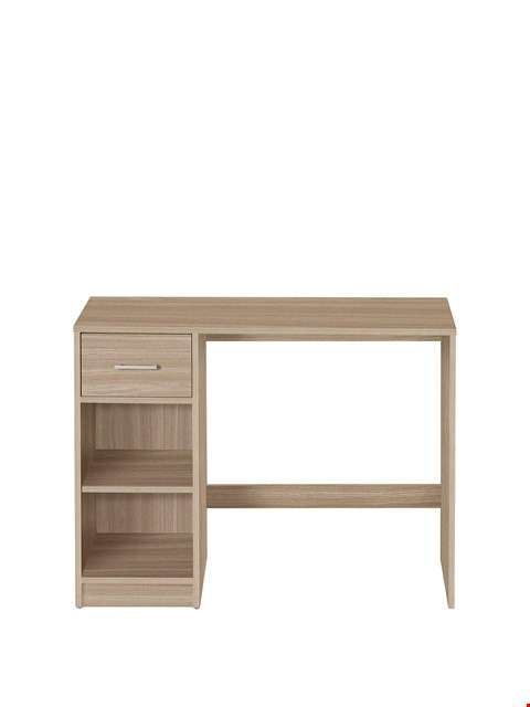 Lot 2217 BOXED GRADE 1 METRO DESK (NEW LUCCA) - OAK RRP £52.00