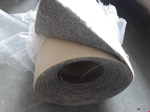 Lot 2205 ROLLED GREY CARPET - SIZE UNSPECIFIED