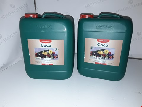 Lot 88 2 X 10L CANNA COCO PLANT NUTRITION