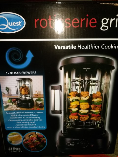 Lot 2373 QUEST ROTISSERIE GRILL