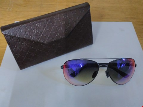 Lot 1590 GUCCI STYLE GLASSES WITH CASE