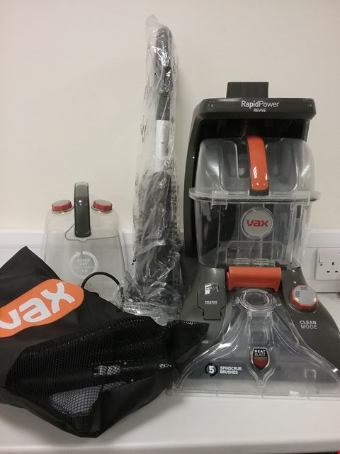 Lot 3121 VAX RAPID POWER REVIVE CARPET WASHER