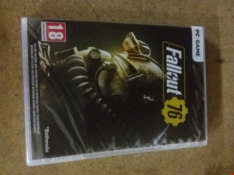 Lot 2562 FALLOUT 76 PC GAME