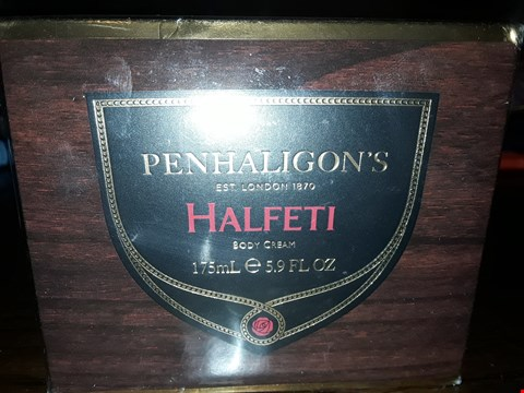 Lot 7089 PENHALIGONS HALFETI BODY CREAM