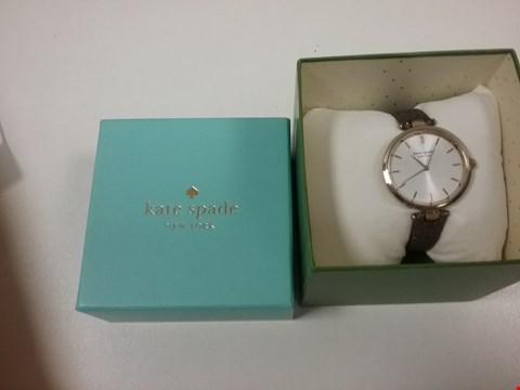 Lot 2450 KATE SPADE WHITE SUNRAY AND ROSE WATCH