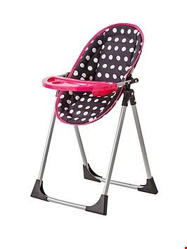 Lot 89 ROSA 4-IN-1 DOLLS HIGHCHAIR  RRP £22.99