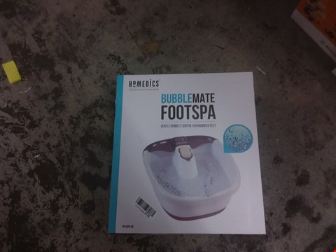Lot 4748 HOMEDICS BUBBLEMATE FOOTSPA