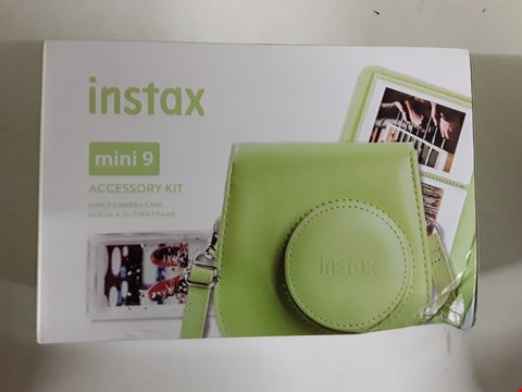 Lot 1579 BOXED INSTAX MINI 9 ACCESSORY KIT (DOES NOT COME WITH CAMERA) RRP £40