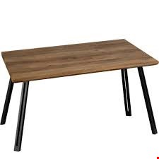 Lot 504 BOXED QUEBEC DINING TABLE- STRAIGHT EDGE (2 BOXES)