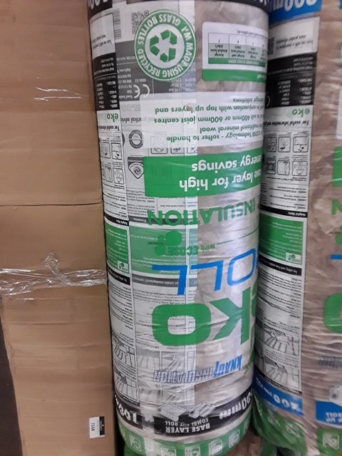 Lot 7166 1 X BAGGED ROLL OF 100MM LOFT INSULATION