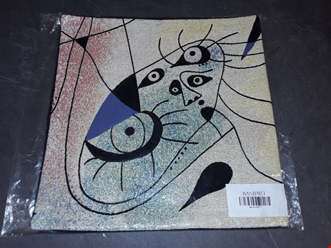 Lot 8163 BRAND NEW 45X45CM  SUCCESSIO JOANMIRO ABSTRACT CUSHION COVER