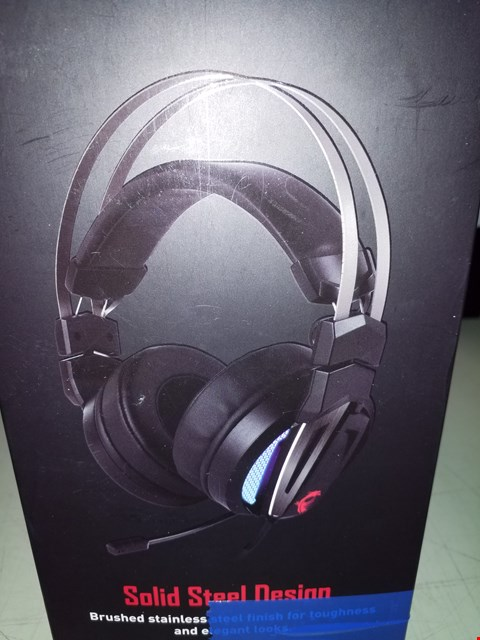 Lot 204 MSI MMERSE GH70 HI-RES LED GAMING HEADSET WIRED AND RETRACTABLE MICROPHONE