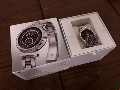 Lot 298 BOXED MICHAEL KORS ACCESS WRIST WATCH