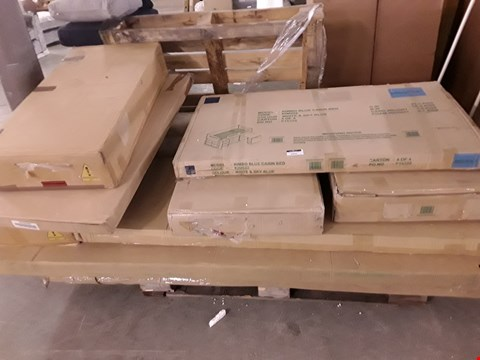 Lot 2009 PALLET OF ASSORTED FLAT PACK FURNITURE PARTS ETC
