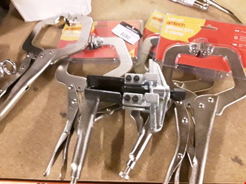 Lot 3080 FOUR PAIRS AMTECH C CLAMPS & HUB PULLER