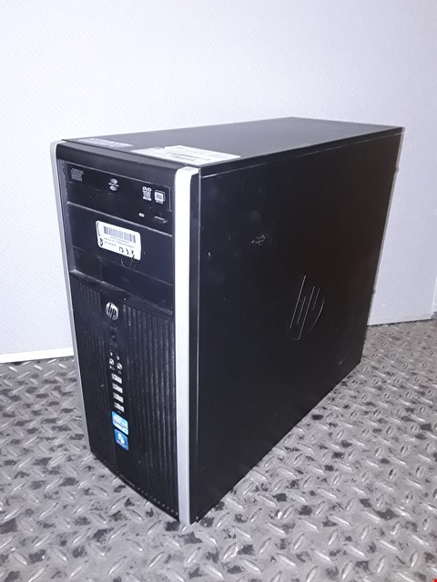 Lot 1043 HP COMPAQ 6200 PRO MICROTOWER INTEL I3