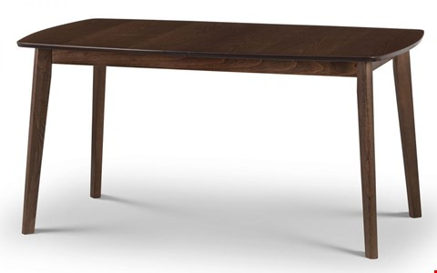 Lot 3571 BOXED KENSINTON DINING TABLE WALNUT-EFFECT ( 1 BOX )