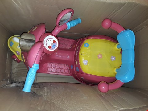 Lot 7826 PEPPA PIG 6V BATTERY OPERATED RIDE ON TRIKE RRP £127.00