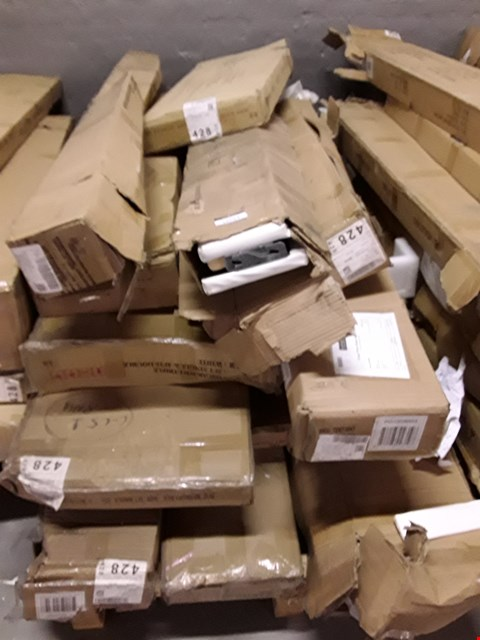 Lot 12290 PALLET OF ASSORTED FLAT PACK FURNITURE PARTS