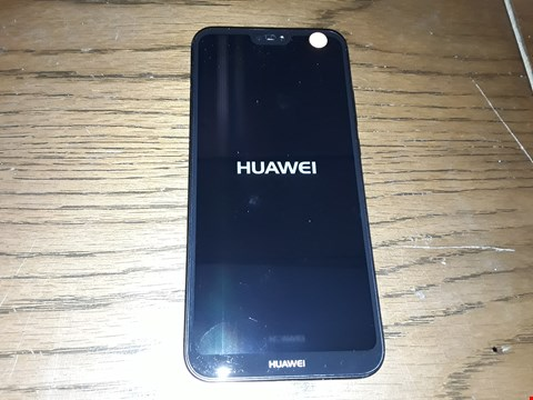 Lot 2751 HUAWEI P20 LITE 64GB MOBILE PHONE BLACK