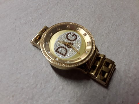 Lot 6024 DOLCE AND GABBANA STYLE ALL GOLD LOOK WATCH