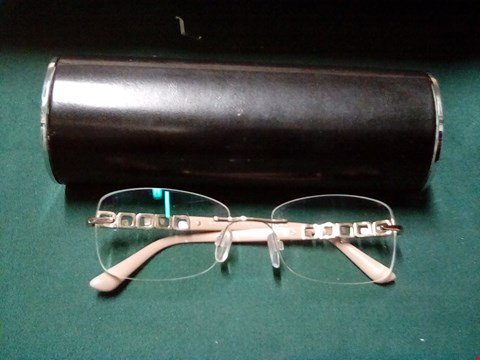 Lot 1003 GLASSES IN THE STYLE OF BVLGARI WITH BLACK CASE
