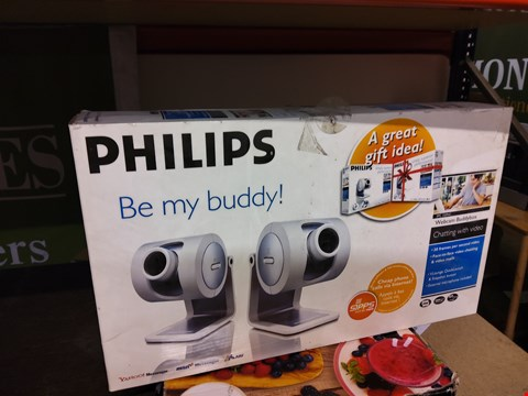 Lot 21 BOXED PHILIPS BE MY BUDDY WEBCAM