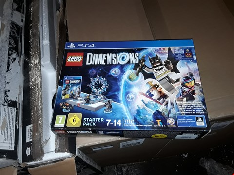 Lot 9066 LEGO DIMENSIONS FOR PS4 , PS3 AND WII U - 4 ITEMS