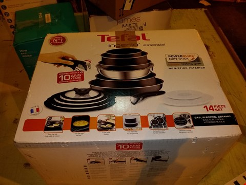 Lot 5631 TEFAL TEFAL INGENIO EVERYDAY POTS AND PANS SET
