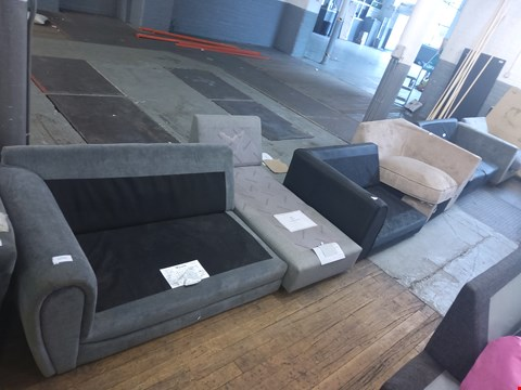 Lot 6044 6 ASSORTED SOFA SECTIONS