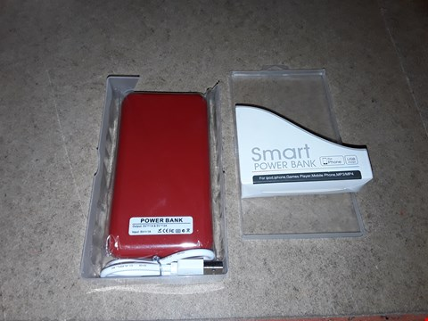 Lot 8206 BOXED SMART PHONE POWER BANK, 2 OUTPUTS