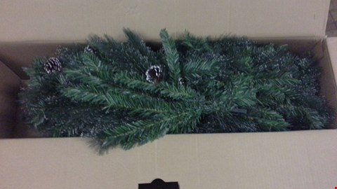 Lot 343 6FT GLISTEN CHRISTMAS TREE GREEN  RRP £100.00