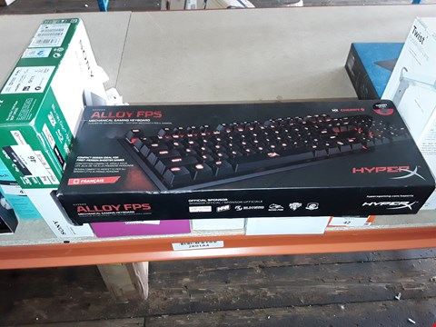Lot 24 HYPERX ALLOY FPS MECHANICAL GAMING KEYBOARD