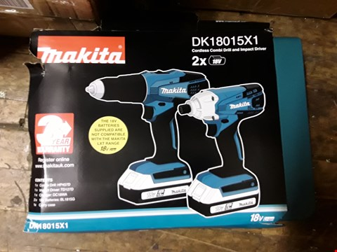 Lot 1550 MAKITA 18V G SERIES COMBI DRILL RRP £150