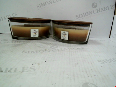 Lot 1217 2 ELLIPSE TRILOGY CAFE SWEETS YANKEE CANDLES