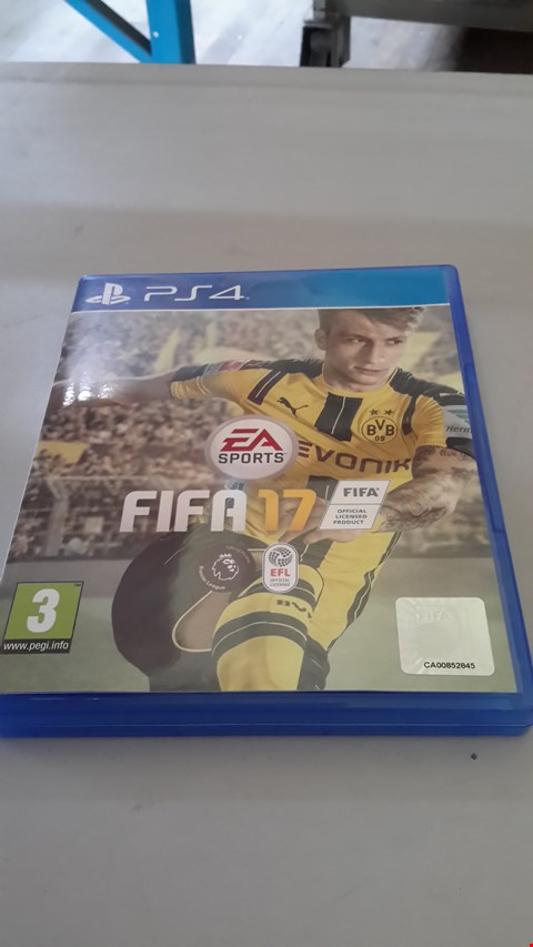 Lot 9028 FIFA 17 FOR PS4