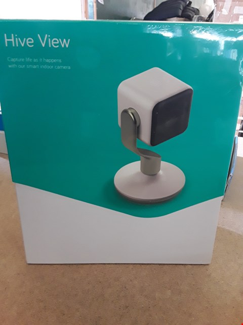 Lot 22 BOXED HIVE VIEW SMART INDOOR CAMERA