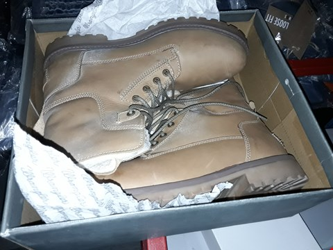 Lot 2170 3 PAIRS OF BRAND NEW WRANGLER MEN AVIATOR BOOTS CANEL SIZE 12  RRP £90
