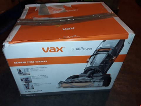 Lot 1041 VAX DUAL POWER CARPET CLEANER, 2.7 LITRE