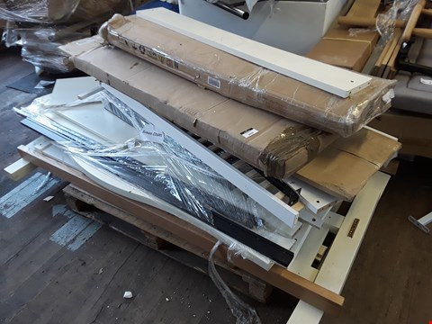 Lot 5046 PALLET OF ASSORTED FLAT PACK FURNITURE PARTS