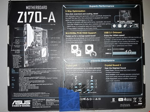 Lot 787 ASUS Z170-A MOTHERBOARD