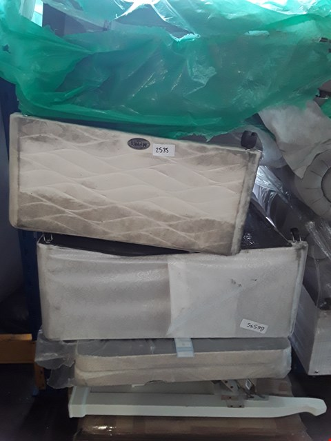 Lot 47 PALLET OF ASSORTED FLAT PACK FURNITURE AND BED BASES ETC