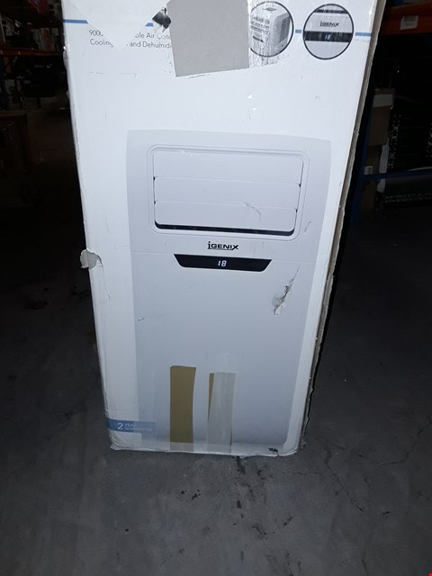 Lot 1170 IGENIX COOLING FAN AND DEHUMIDIFIER WHITE