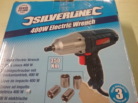 Lot 8255 SILVERLINE 400W ELECTRIC WRENCH
