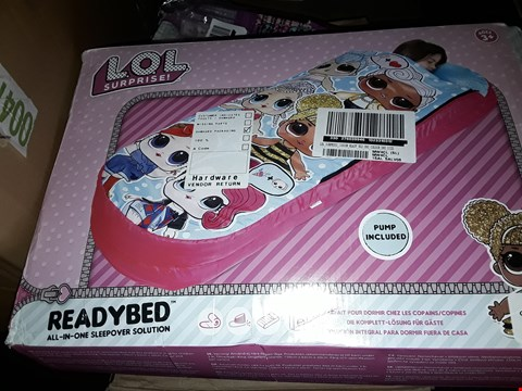 Lot 2316 TWO GRADE 1 LOL SURPRISE JUNIOR READY BEDS RRP £75.98