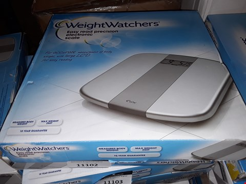 Lot 7370 WEIGHT WATCHERS ELECTRONIC SCALE