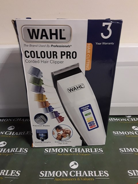 Lot 1482 WAHL COLOUR PRO CORDED HAIR CLIPPER