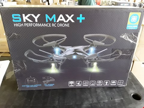 Lot 7071 BOXED SKY MAX PLUS DRONE WITH STORAGE BAG
